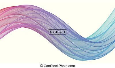 Amplitude Abstract Background with a colored dynamic waves....