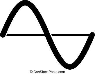 Amplitude graph icon