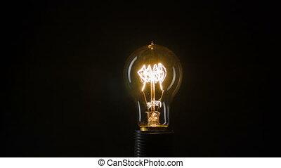 ampoule, électrique, clignotant