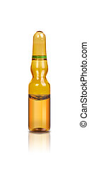 ampoule 3 on a white background