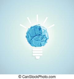 ampoule, concept