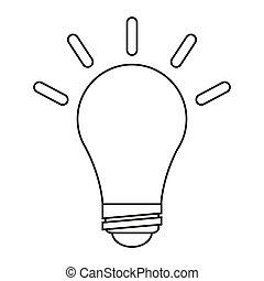 ampoule cole cr atif id e pictogramme 10 cole. Black Bedroom Furniture Sets. Home Design Ideas