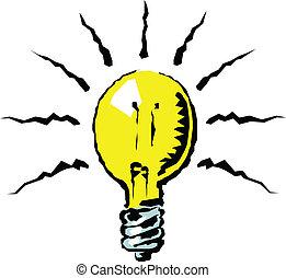 ampoule, illustration
