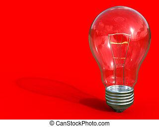 ampoule, lumière