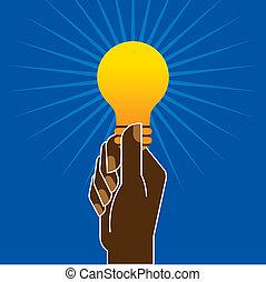 ampoule, main