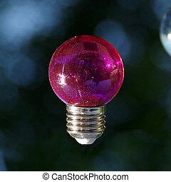 ampoule, rouges