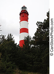 Amrum lighthouse, Germany.