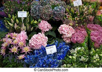 amsterdão, mercado flor