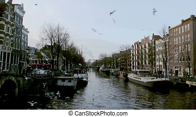 Amsterdam - 041 Brouwersgracht A1 - View of heritage city...