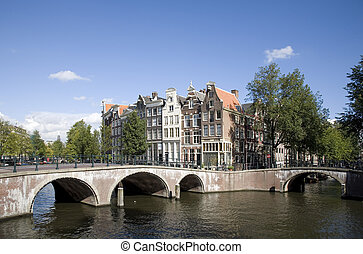 Amsterdam 3 - Amsterdam canal houses