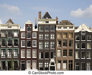 Amsterdam 9 - Canal houses in Amsterdam,Holland