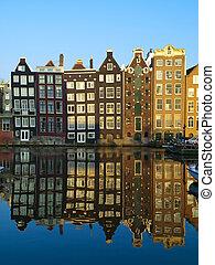 amsterdam, architektur, typisch