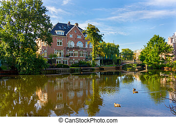 Luxury real estate in Amsterdam