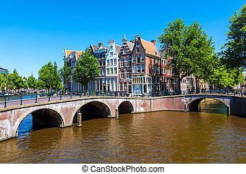 amsterdam, de, nederland