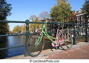 amsterdam, fahrrad