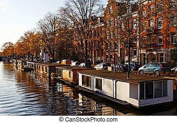 Amsterdam Floating Houses