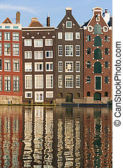 Amsterdam historic houses