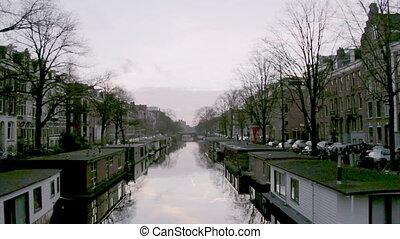 Amsterdam Jacob van - View of heritage city canals (Jacob...