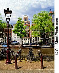 amsterdam, kanaler