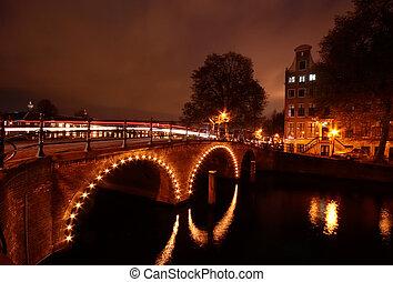 amsterdam, nacht
