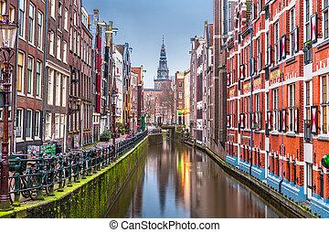 Amsterdam, Netherlands Canals - Amsterdam, Netherlands ...