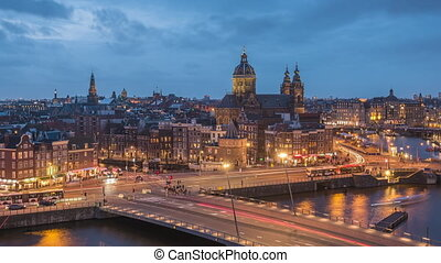 Amsterdam, Netherlands Old Centre District - Amsterdam, ...