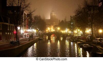 amsterdam, nuit