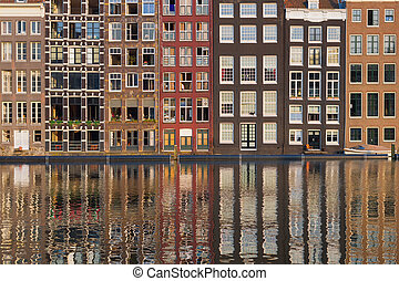 Amsterdam old houses