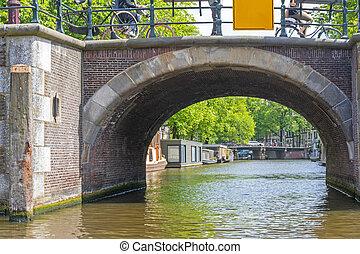 amsterdam, pont espiègle
