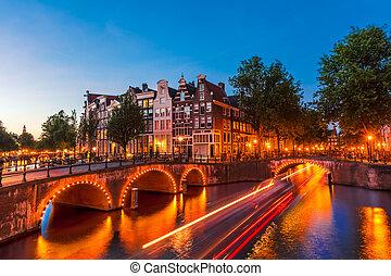 amsterdam, przedimek określony przed rzeczownikami, niderlandy