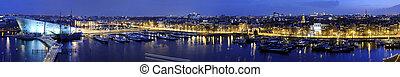 Amsterdam Skyline - The skyline of Amsterdam, the...