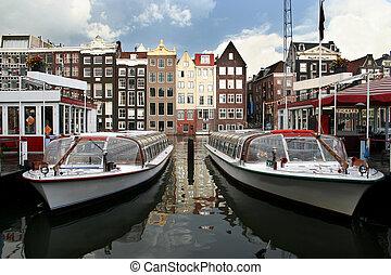 Amsterdam Tour Boats