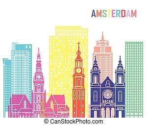 Amsterdam V2 skyline pop