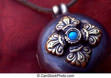 amulett, tibetanisch