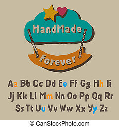 amusement, alphabet