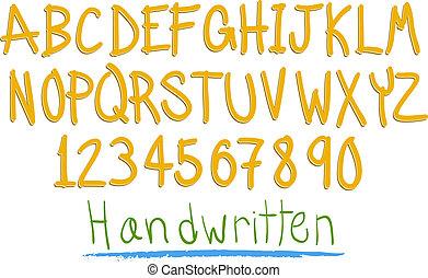 amusement, alphabet, witten, main