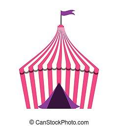 amusement, cirque, foire