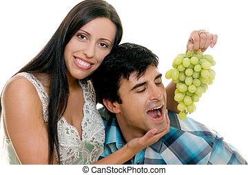 amusement, couple