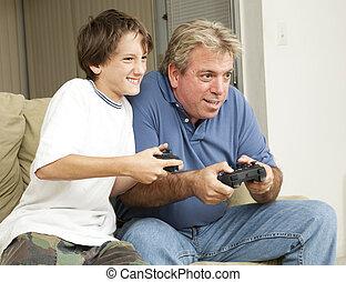 amusement, jeu, vidéo