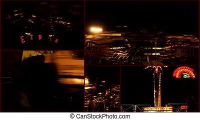 amusement luna park attraction - amusement luna park...