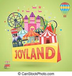Amusement Park Emblem