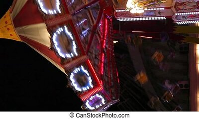 amusement park lateral shoot