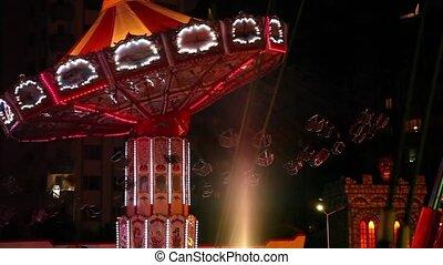 amusement park light