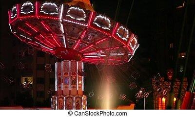 amusement park time lapse