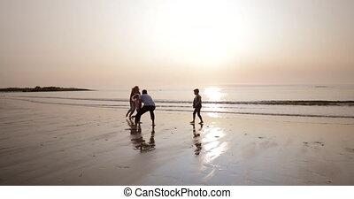 amusement, plage, avoir