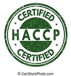 análisis, o, crítico, points), señal, estampilla, control, (hazard, haccp