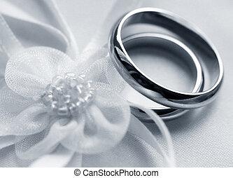 anéis casamento