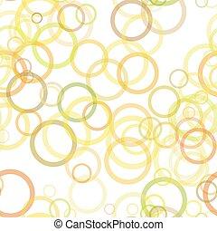 anéis, padrão, -, vetorial, desenho, fundo, repetindo, círculo