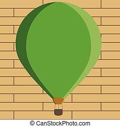 anúncio, cor, texto, aquilo, três, desenho, penduradas, espaço, balloon, flutuante, isolado, quentes, modelo, sob, vazio, site web, apartamento, ilustração negócio, amarrada, cópia, bandeira, toned, esp, ar, vetorial, cesta, promoção
