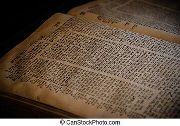 an, 開啟經典, 在, 希伯來人